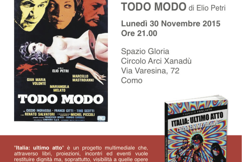 Italia ultimo atto - 30 novembre 2015