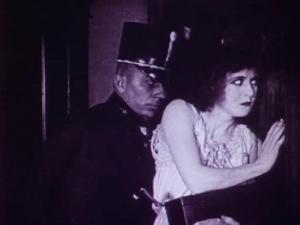Erich von Stroheim & Francelia Billington - Blind Husbands (1919) caution